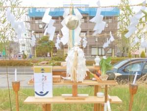 LIVESオフィス地鎮祭